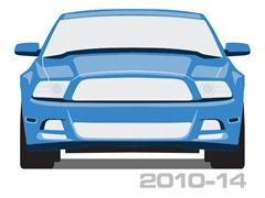2010-2014 Mustang Front Bumper Covers