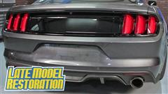 How To: Install 2015 Mustang Ford Racing Deck Lid Trim Panel