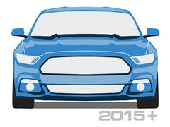 2015-2016 Mustang Light Covers