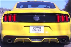 2015 Mustang Roush Axle Back Review