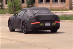 2015 S550 Mustang Prototype Spy Video