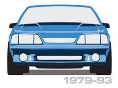 1979-1993 Mustang Light Covers