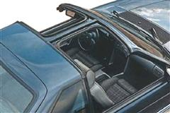 1989 Mustang T-Top & Sunroof Components