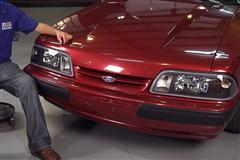 Fox Body Mustang One Piece Headlight: Install Video