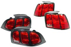 1994-2004 Mustang Tail Lights & 3rd Brake Lights
