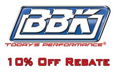 BBK Exhaust Rebate - Summer 2014