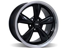Black Bullitt Mustang Wheels