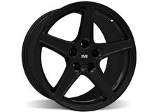 Black Saleen Mustang Wheels
