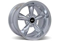Chrome Bullitt Mustang Wheels