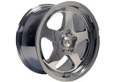 Chrome Saleen SC Style Mustang Wheels