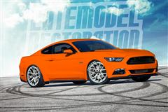 Rendering Our Competition Orange 2015 Mustang GT!