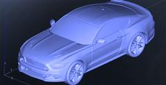 Ford Creates Chocolate 2015 Mustang With A 3D Printer