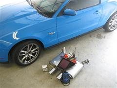 Ford Racing Mustang Power Pack Installation M-FR1-MGTB