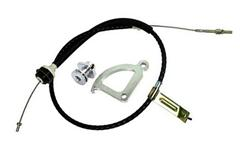 Mustang Clutch Cable, Quadrant & Adjuster
