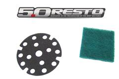 Mustang Horn Button Repair Pad Installation (87-89 Fox Body) - mustang horn button repair pad