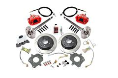 Mustang Complete Rear Brake Kits