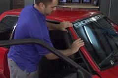 87-93 Mustang Roof Rail Molding Install