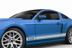 Mustang Side Stripes & Graphic