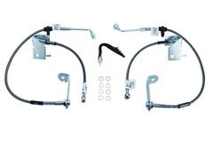 2005-2014 Mustang Stainless Brake Hoses
