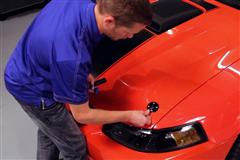 Mustang SVE Hood Pin Appearance Kit