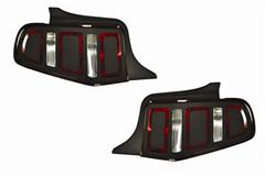 Mustang Tail Light Covers & Decals
