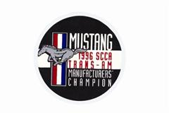 Mustang Trans Am Champion Decals