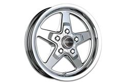 Polished Race Star Mustang Drag Wheels