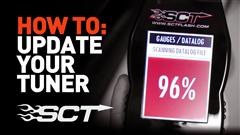 SCT Tuner Tech: How To Update Your Device