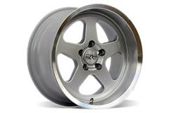 Silver Saleen SC Style Mustang Wheels