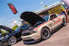 SVE Pace Car & Project Blue Collar Visit Mustang Week