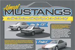The Mustangs That Never Were!